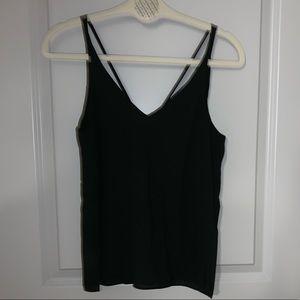 Women's Topshop black tank top